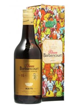 Rhum Barbancourt 15ans 70cl 43%, Haiti