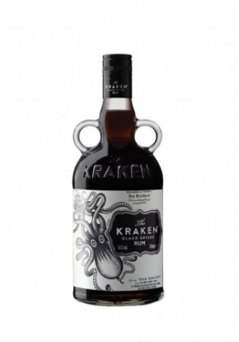 Rhum Kraken Black Spiced 70cl 40%,  Spiced, Trinité-et-Tobago