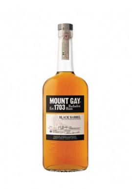 Rhum Mount Gay Black Barrel 70cl 43%,  Melasse, Barbades