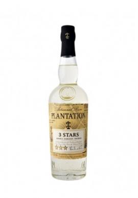 Rhum Plantation Blanc 3 Stars 70cl 41.2%, Melasse, Barbades