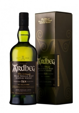 Whisky Ardbeg 10ans Non Chill-Filtered 70cl 46%,Single Malt , Ecosse / Islay