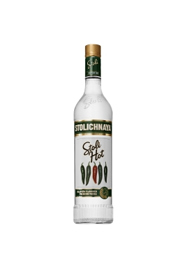 Vodka Stolichnaya Hot 70cl 37.5%, Lettonie