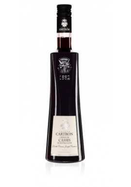 Liqueur Joseph Cartron Double Creme Cassis 50cl 19%, France