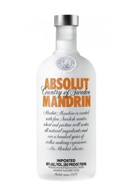 Vodka Absolut Mandrin 70cl 40%, Cereale, Suede / Skane