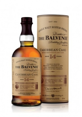 Whisky The Balvenie 14ans Caribbean Cask 70cl 43%, Single Malt, Ecosse / Speyside