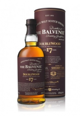 Whisky The Balvenie 17ans Double Wood 70cl 43%, Single Malt, Ecosse / Speyside
