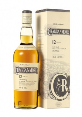Whisky Cragganmore 12ans 70cl 40%, Single Malt , Ecosse / Speyside