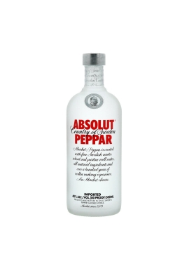 Vodka Absolut Peppar 50cl 40%, Cereale, Suede / Skane