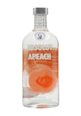 Vodka Absolut Apeach 70cl 40%,  Cereale, Suede / Skane