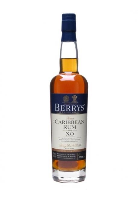Berry\'s Own Caribbean XO 70cl 46%, Rhum Mèlasse, Trinidad