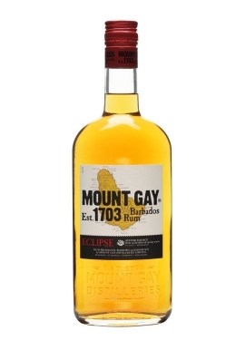 Rhum Mount Gay Eclips 70cl 40%, Melasse, Barbades