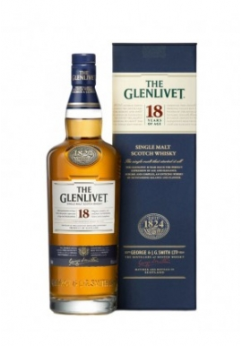 Whisky  Glenlivet 18ans 70cl 43%, Single Malt , Ecosse / Speyside