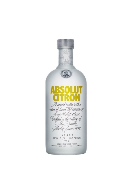 Vodka Absolut Citron 70cl 40%, Cereale, Suede / Skane