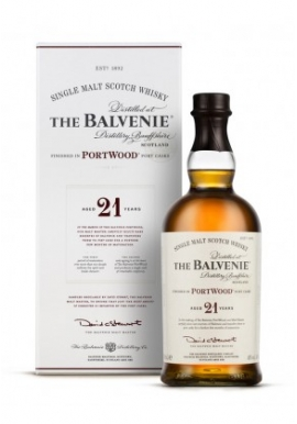Whisky The Balvenie 21ans Portwood 70cl 40%, Single Malt, Ecosse / Speyside