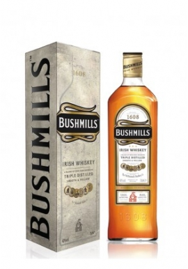 Whisky Bushmills Triple Destilled 70cl 40%,
