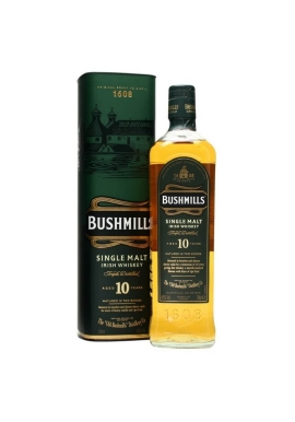 Whisky Bushmills Single Malt 10ans 70cl 40%,  Irlande / Antrim County