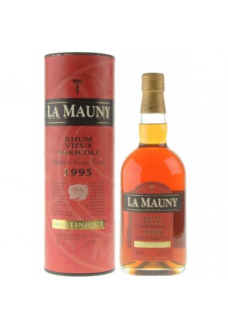Rhum La Mauny 1995 70cl 42%,  Agricole, France / Martinique