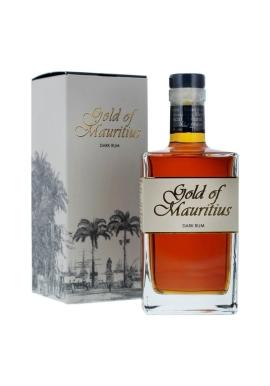 Rhum Gold Of Mauritius Dark 5ans Solera 70cl 40%, Melasse , Maurice