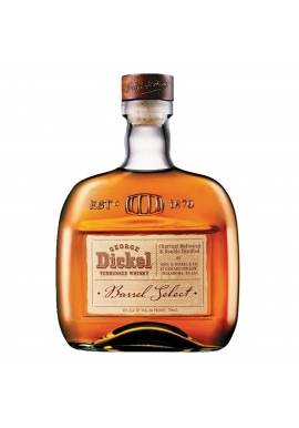 Whisky Georges Dickel Barrel Select 75cl 43%, États-Unis