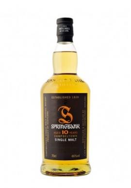 Whisky Springbank 10ans 70cl 46%, Single Malt, Ecosse / Campbeltown