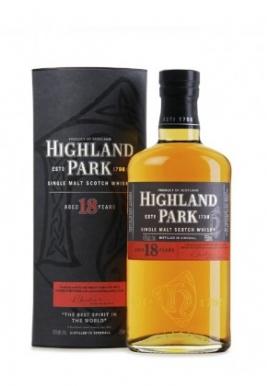 Whisky Highland Park 18ans 70cl 43%, Single Malt , Ecosse / Highlands-orkney