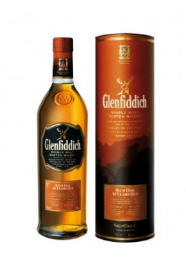Whisky Glenfiddich Rich Oak 70cl 40%, Single Malt, Ecosse / Speyside