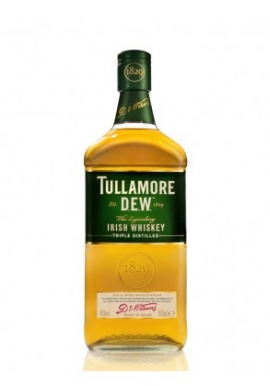 Whisky Tullamore D.E.W 70cl 40%, Blended , Irlande / Cork County