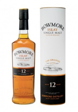 Whisky Bowmore 12ans 70cl 40%, Single Malt, Ecosse / Islay