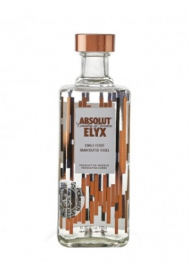 Vodka Absolut Elyx 70cl 42.3%, Cereale, Suede / Skane