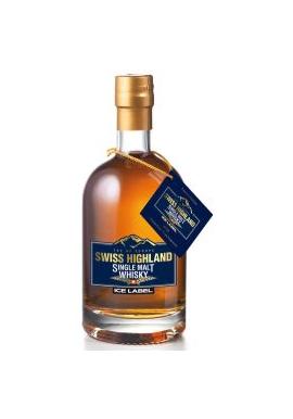 Whisky Swiss Highland Ice Label 50cl 57%, Single Malt /Swiss
