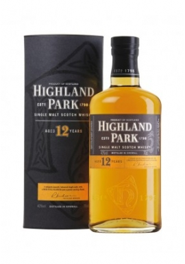 Whiskhy Highland Park 12ans Viking Honour 70cl 40%,  Single Malt , Ecosse / Highlands-orkney