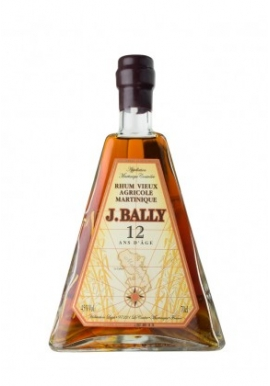 Rhum J. Bally 12ans 70cl 45%,  Agricole, France / Martinique