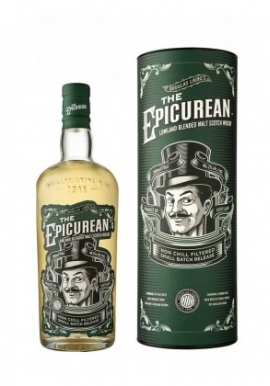 Whisky The Epicurean Lowland Malt 70cl 46.2%, Blended Malt , Ecosse / Lowlands