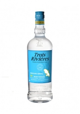 Rhum Trois Rivieres Blanc 70cl 50%, Martinique