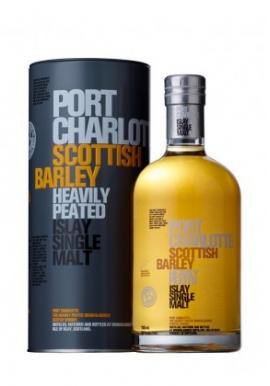 Whisky Port Charlotte Scottish Barley 70cl 50%, Single Malt, Ecosse / Islay