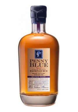 Rhum Penny Blue XO Single Estate Mauritian  Batch #005 70cl 43.1%,  Melasse, Ile Maurice