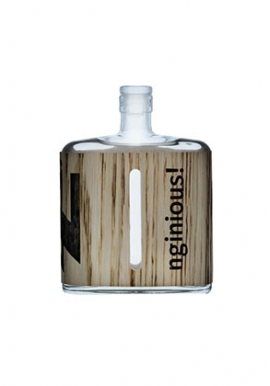 Gin Nginious Smoked & Salted 50cl 42%, Suisse, Basel