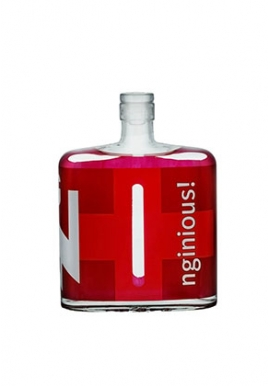 Gin Nginious Swiss Blended 50cl 45%, Suisse, Basel