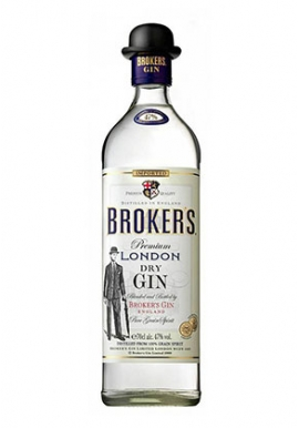 Gin Broker\'s 70cl 40%, Royaume-Uni, Birmingham