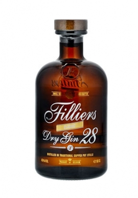 Gin Filliers Dry 28 50cl 46%,  Belgique