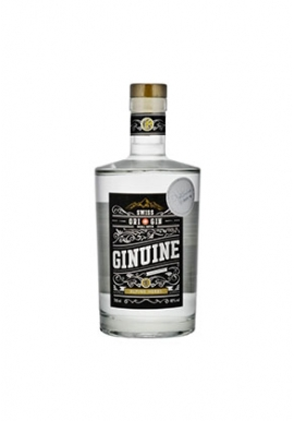 Gin Ginuine 70cl 40%,  Suisse