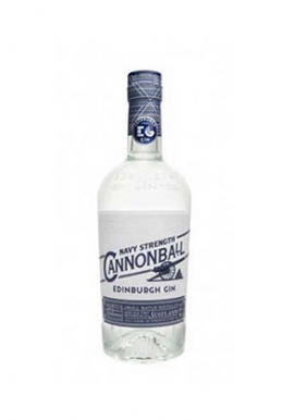 Gin Cannonball Navy Strength 70cl 57.2%, Ecosse / Lowlands