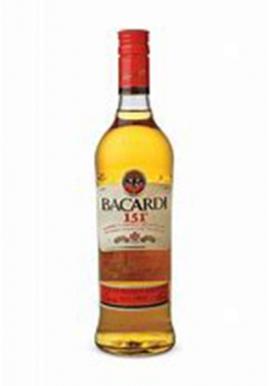 Bacardi 151 proff 75cl 75.5%, Rhum, Porto Rico