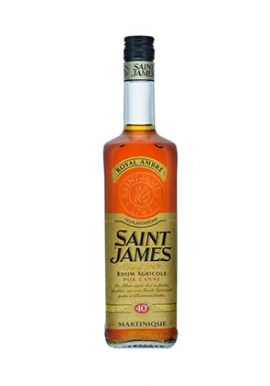 Rhum Saint James Royal Ambre 70cl 45%, Agricole, Martinique