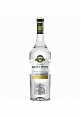Vodka Green Mark 70cl 40%,  Topaz Distillery - Moscow, Russia
