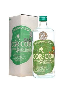 Rhum Corcor Green Agricole 72cl 40%, Japon