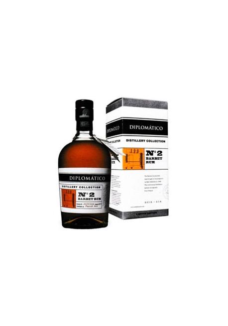 Rhum Diplomatico Distillery Collection NO2 Barbet Still 70cl 47%, Venezuela