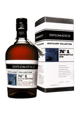Rhum Diplomatico Distillery Collection NO1 Batch Kettle 70cl 47%, Venezuela