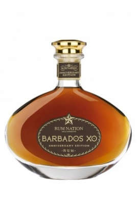 Rhum Nation Barbados XO 70cl 40%, Mélasse, Barbados