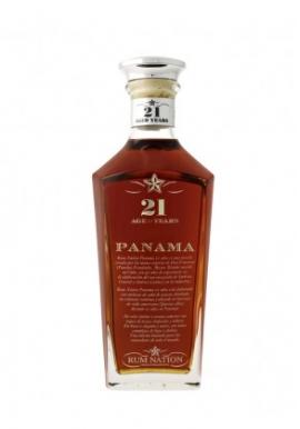 Rhum Nation Panama 21ans 70cl 40%,  Melasse, Panama